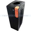 Mülltrennsystem BonTon mit Einwurföffnung 70 L grau