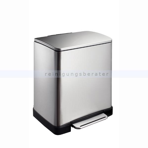 Mülltrennsystem EKO E-Cube 10 plus 9 L matt Edelstahl
