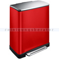 Mülltrennsystem EKO E-Cube Recycling 28 plus 18 L rot
