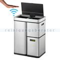 Mülltrennsystem EKO Mirage Plus Sensor Recycler 3 Fach