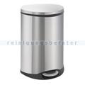 Mülltrennsystem EKO Treteimer Shell Edelstahl matt 2 x 22 L