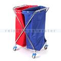 Mülltrennsystem Floorstar Abfallwagen PX 2-120 SOLID