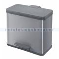 Mülltrennsystem Hailo ProfiLine Solid Öko Duo silber