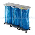 Mülltrennsystem Hailo ProfiLine WS 120 l mobil, 3 x 120 L