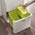 Zusatzbild Mülltrennsystem Intelligent Waste Totem Recycler Edelstahl 60 L