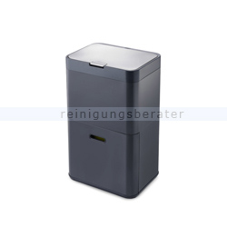Mülltrennsystem Intelligent Waste Totem Recycler graphit 48 L
