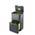 Zusatzbild Mülltrennsystem Intelligent Waste Totem Recycler graphit 48 L