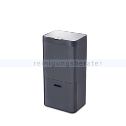 Mülltrennsystem Intelligent Waste Totem Recycler graphit 58 L