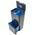 Zusatzbild Mülltrennsystem Intelligent Waste Totem Recycler graphit 58 L