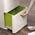 Zusatzbild Mülltrennsystem Intelligent Waste Totem Recycler grau 60 L
