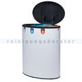Mülltrennsystem Lune Binc 3 Mülltrenner 3-Fach weiß