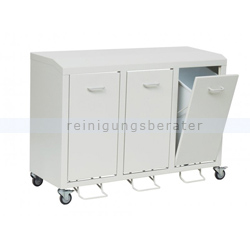 novocal nwk3030 wertstoffschrank 3fach 50 l abfallsammler. Black Bedroom Furniture Sets. Home Design Ideas