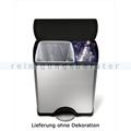 Mülltrennsystem Simplehuman Treteimer 30 und 16 L