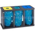 Mülltrennsystem VAR Tetris Müllsackständer 3 x 120 L