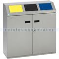 Mülltrennsystem VAR Wertstoffsortiersystem 3-fach 150 L