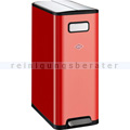 Mülltrennsystem Wesco Big Double Master 40 L rot