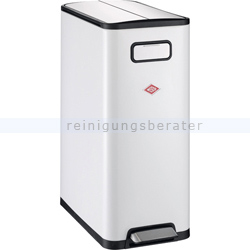Mülltrennsystem Wesco Big Double Master 40 L weiß