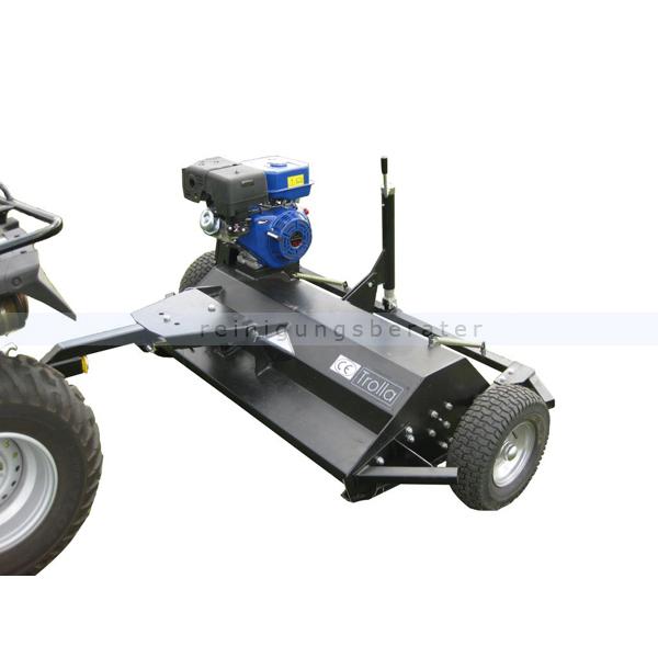 Trolla Schlegelmulcher 115 cm Anhänger für Rasentraktor mit 13 PS jiangdong Motor 12025