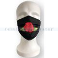 Mundbedeckung Ampri Mehrwegmaske rose schwarz 1 Stück