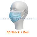 Mundschutz 3-lagig Typ IIR PP blau 50 Stück/Box