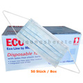 Mundschutz Ampri ECO Plus Gesichtsmaske blau 50 Stück