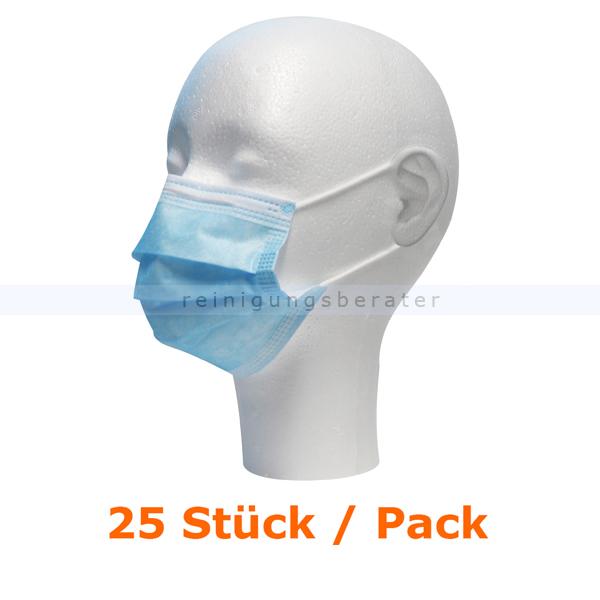 Mundschutz Civil Use PP blau 25 Stück