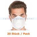 Mundschutz Hygostar Atemschutzmaske FFP2 NR weiß