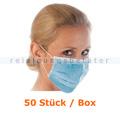 Mundschutz Hygostar Civil Use PP blau 50 Stück/Box