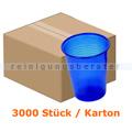 Mundspülbecher Ampri ca. 180 ml blau