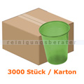 Mundspülbecher Ampri ca. 180 ml grün-transparent