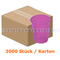 Mundspülbecher Ampri ca. 180 ml pink