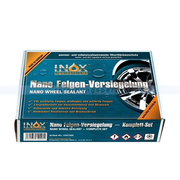 INOX Nano Felgenversiegelung Box Nanoversiegelung für Kfz-,Motorrad-,Offroad-,Fahrrad-,Oldtimerfelgen 1507500