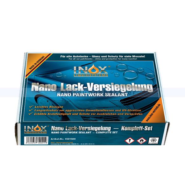 INOX Nano Lackversiegelung Box Nanoversiegelung Glanz und Schutz für viele Monate 1501500