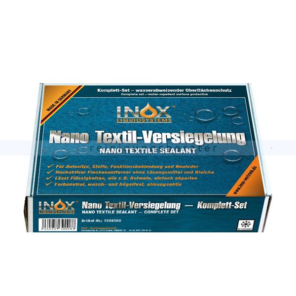 INOX Nano Textilversiegelung Box Nanoversiegelung für Autositze, Rauleder, Cabrioverdecke, Zelte 1508500