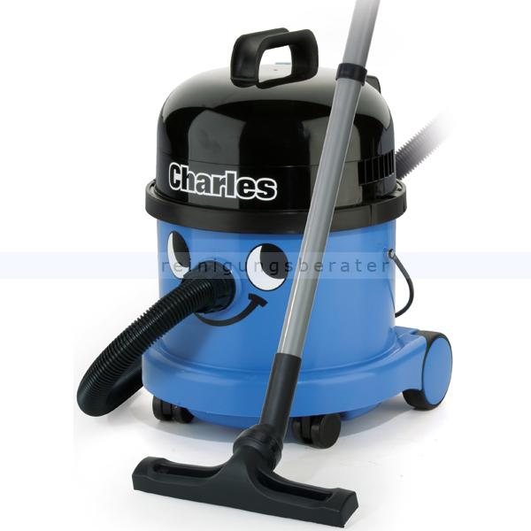 Numatic Charles CVC 370-2 Nass- und Trockensauger vollwertiger Wassersauger inkl. Nasssaugeinsatz mit Ventil 824630