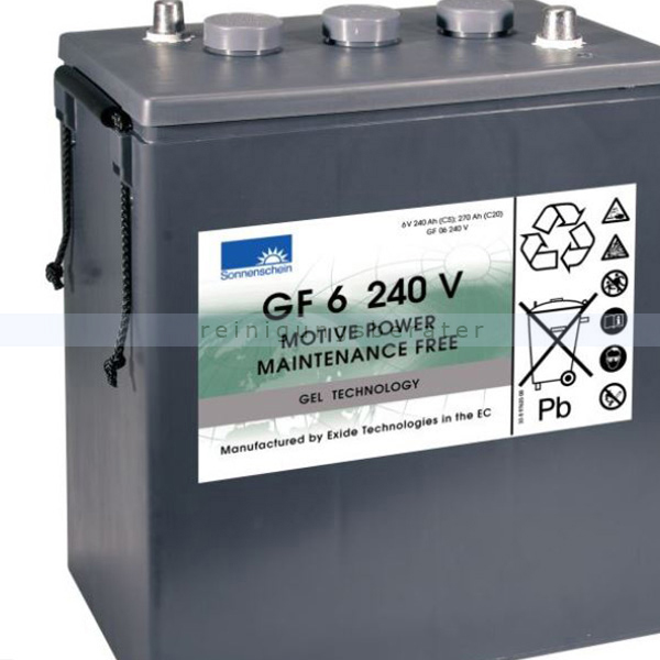 Nilco Batterien nilco-dryfit 6-240 6V / 240 Ah Gel 0081030