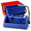 Numatic BK3 Flachpresse pulverbeschichtet blau im Set