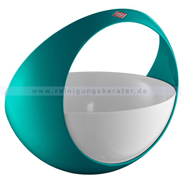 wesco spacy basket t rkis 223301 54. Black Bedroom Furniture Sets. Home Design Ideas