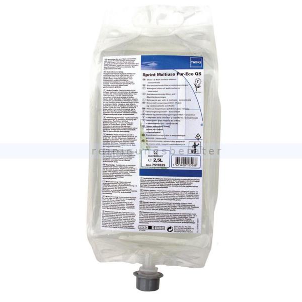 Öko-Glasreiniger Diversey Taski Sprint 200 Pur-Eco QS 2,5 L