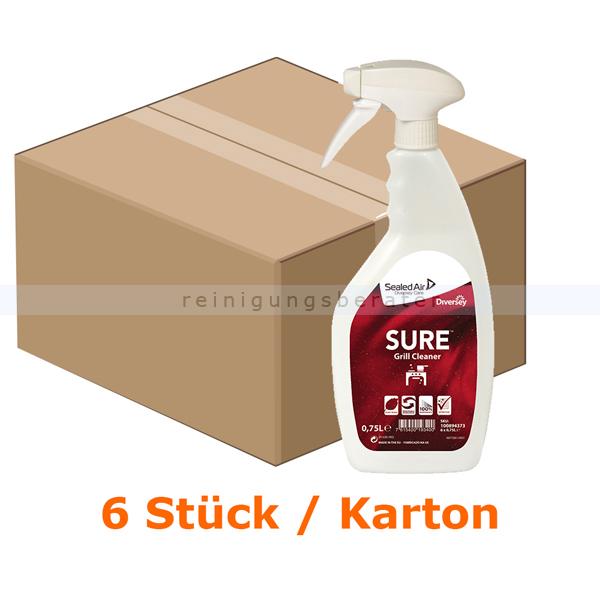 Diversey SURE Grill Cleaner 6 x 750 ml Grillreiniger für den täglichen gebrauch 100894250