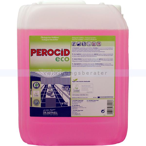 Dr. Schnell Perocid Eco 10 L ökologischer Entkalker ökologischer Kalklöser für den Küchenbereich 36917