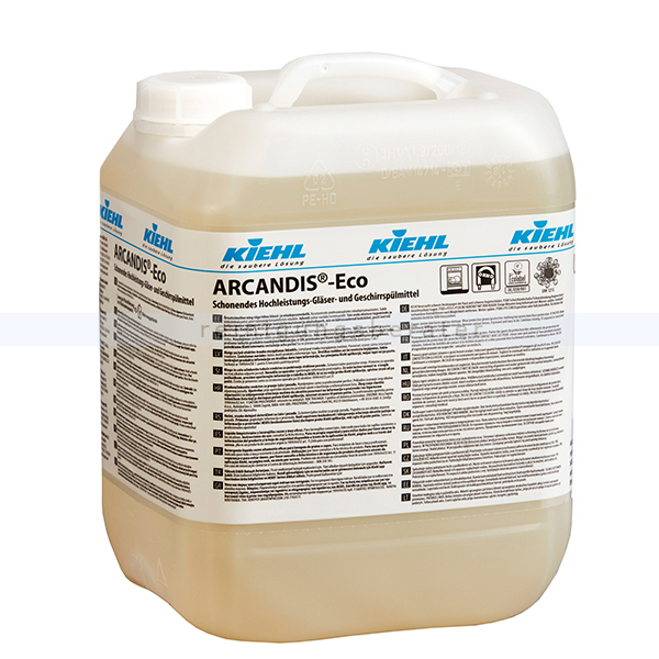 Öko-Spülmaschinenreiniger Kiehl ARCANDIS Eco 10 L Schonendes Hochleistungs-Gläser-, Geschirrspülmittel j560610