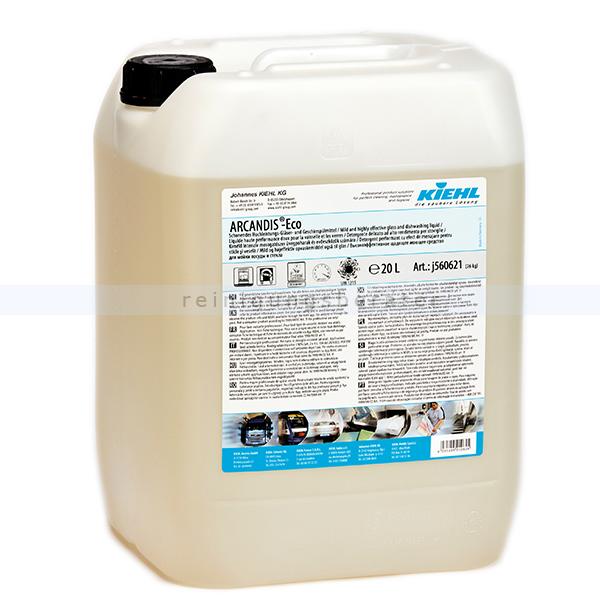 Öko-Spülmaschinenreiniger Kiehl ARCANDIS Eco 20 L Schonendes Hochleistungs-Gläser-, Geschirrspülmittel j560621