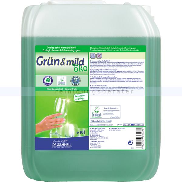 Dr. Schnell grün & mild Öko 10 Lökologisches Spülmittel