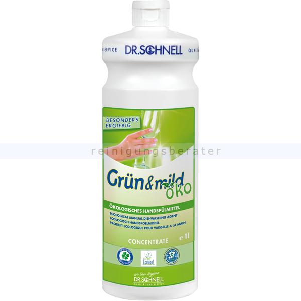 Dr. Schnell grün & mild Öko 1 L ökologisches Spülmittel