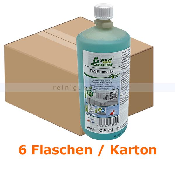 Tana Quick & Easy Tanet interior 325ml Öko-Universalreiniger universeller Oberflächenreiniger für streifenfreie Reinigung 713658