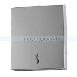 Papierhandtuchspender BRINOX Edelstahl glänzend