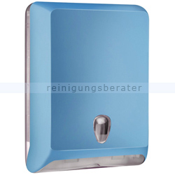 Papierhandtuchspender MP830 Color Edition Softtouch, blau