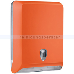 Papierhandtuchspender MP830 Color Edition Softtouch, orange