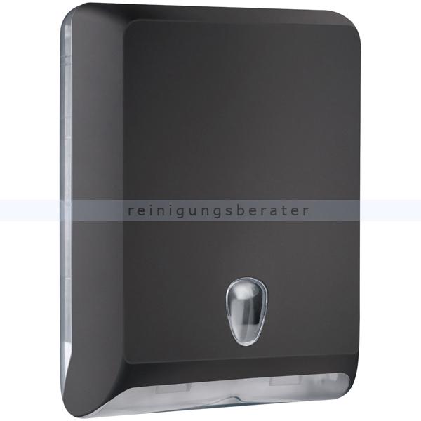 Papierhandtuchspender MP830 Color Edition Softtouch, schwarz